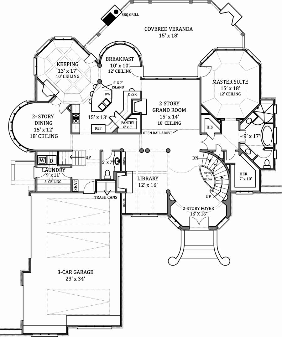 House Hennessey House House Plan   Green Builder House Plans st Floor Plan image of Hennessey House House Plan