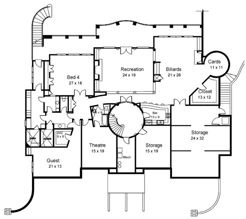 how to create basement floor plans