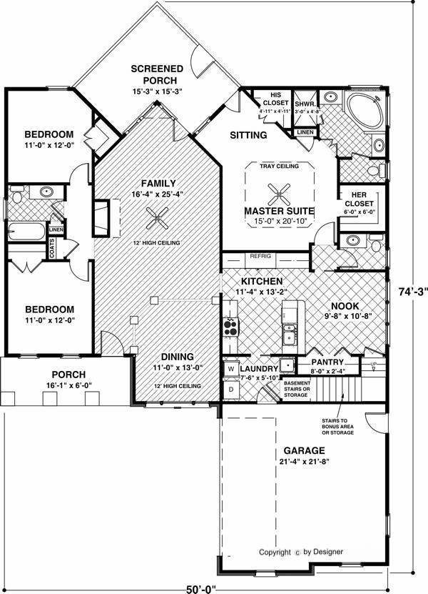 1st Floor image of The Aberdeen House Plan