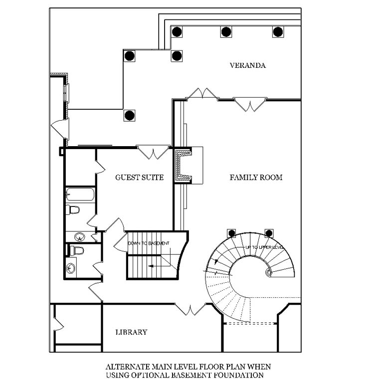 House magnolia place 5400 house plan green builder house for Crawl space foundation cost per square foot