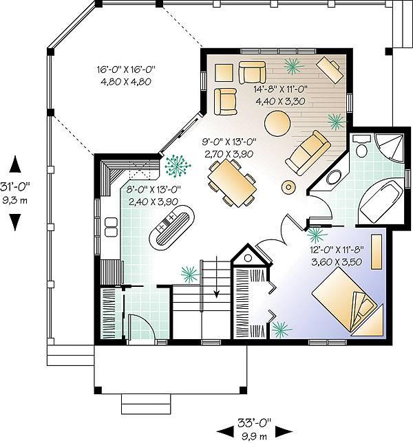 House The Trail Seeker 1 House Plan Green Builder House