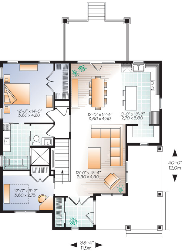 House Galerno 5 House Plan Green Builder House Plans