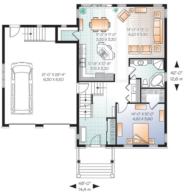 House Hickory House Plan Green Builder House Plans
