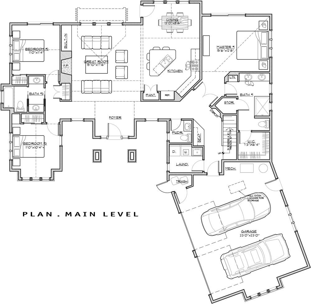 House Classic Craftsman House Plan Green Builder House Plans