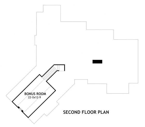 Second Floor Plan image of Vita Encantata House Plan