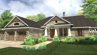 House la casa bella house plan green builder house plans for Casa rambler vs casa ranch