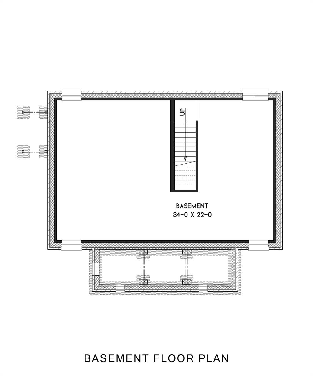 Basement Plan image of Enough House Plan