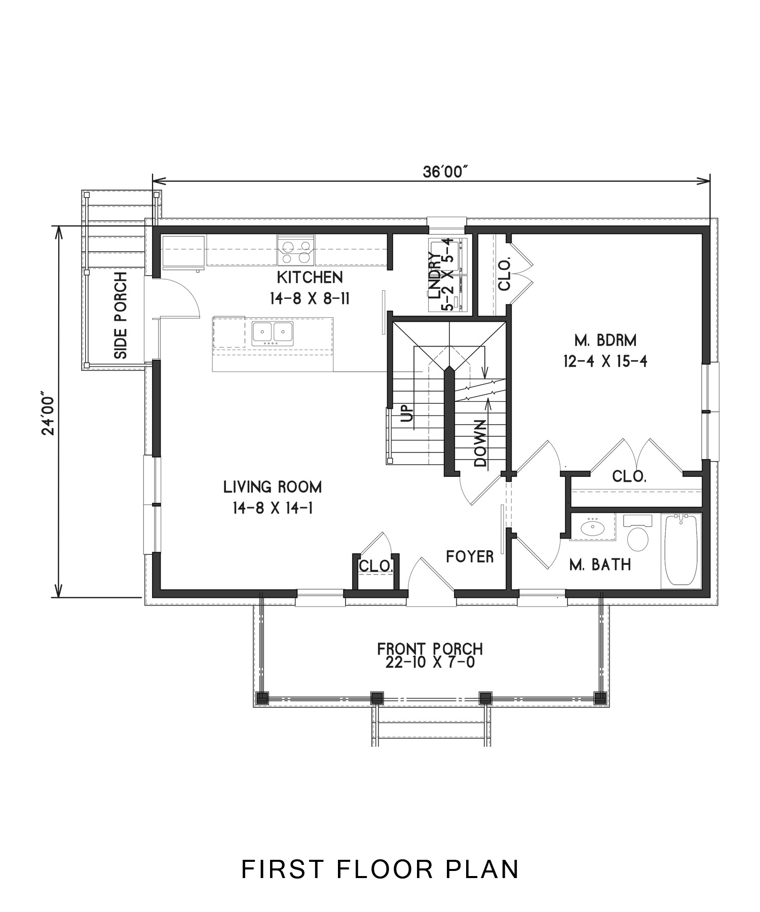 1st Floor image of Enough House Plan