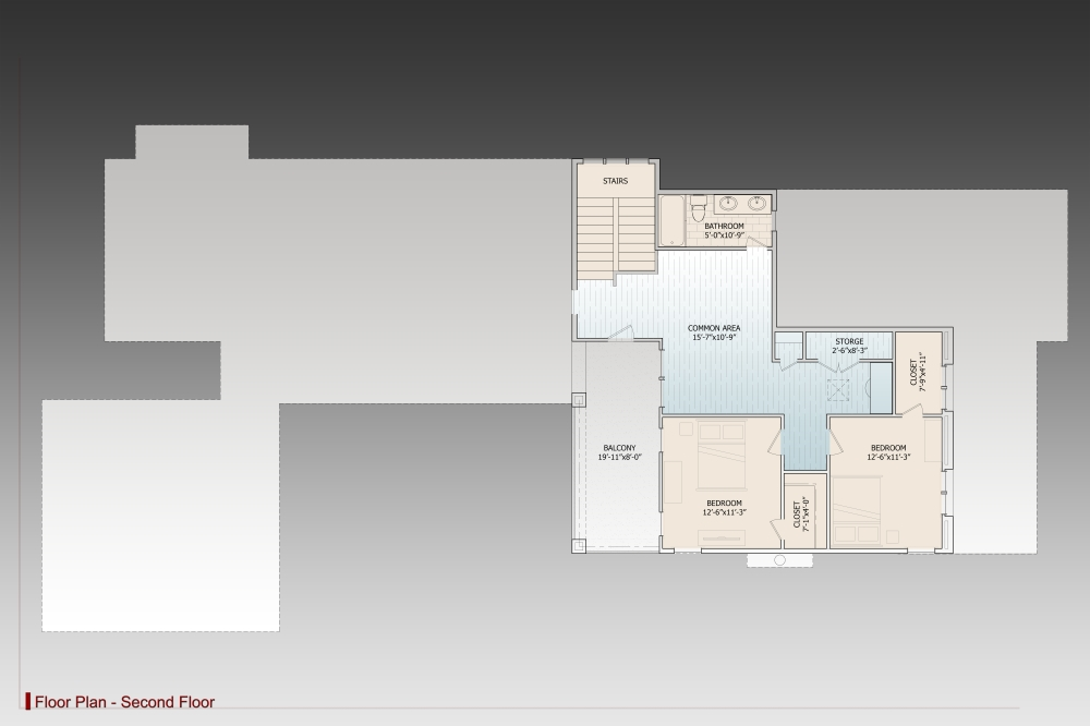2nd Floor image of Annabel Drive House Plan