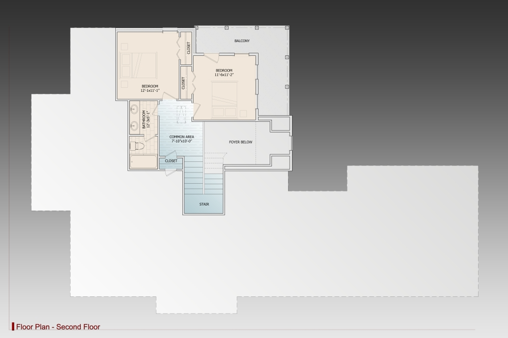 2nd Floor image of Daisy Drive House Plan