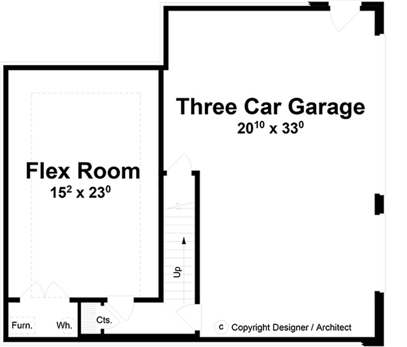 Basement Plan image of Farmington House Plan