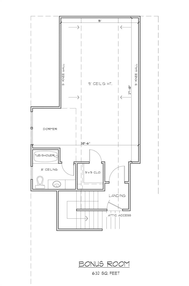 Bonus Plan image of Black Creek House Plan