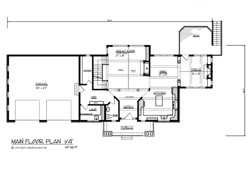 House the north shore house plan green builder house plans for Shore house plans
