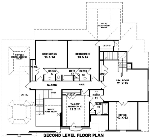 House french dream house plan green builder house plans for Dream house floor plans