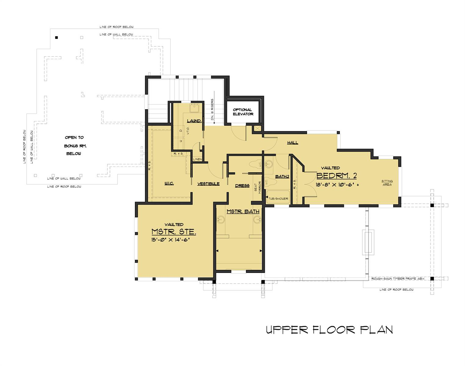 2nd Floor image of Pendenza House Plan