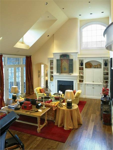 Great Room image of Stoneham House Plan