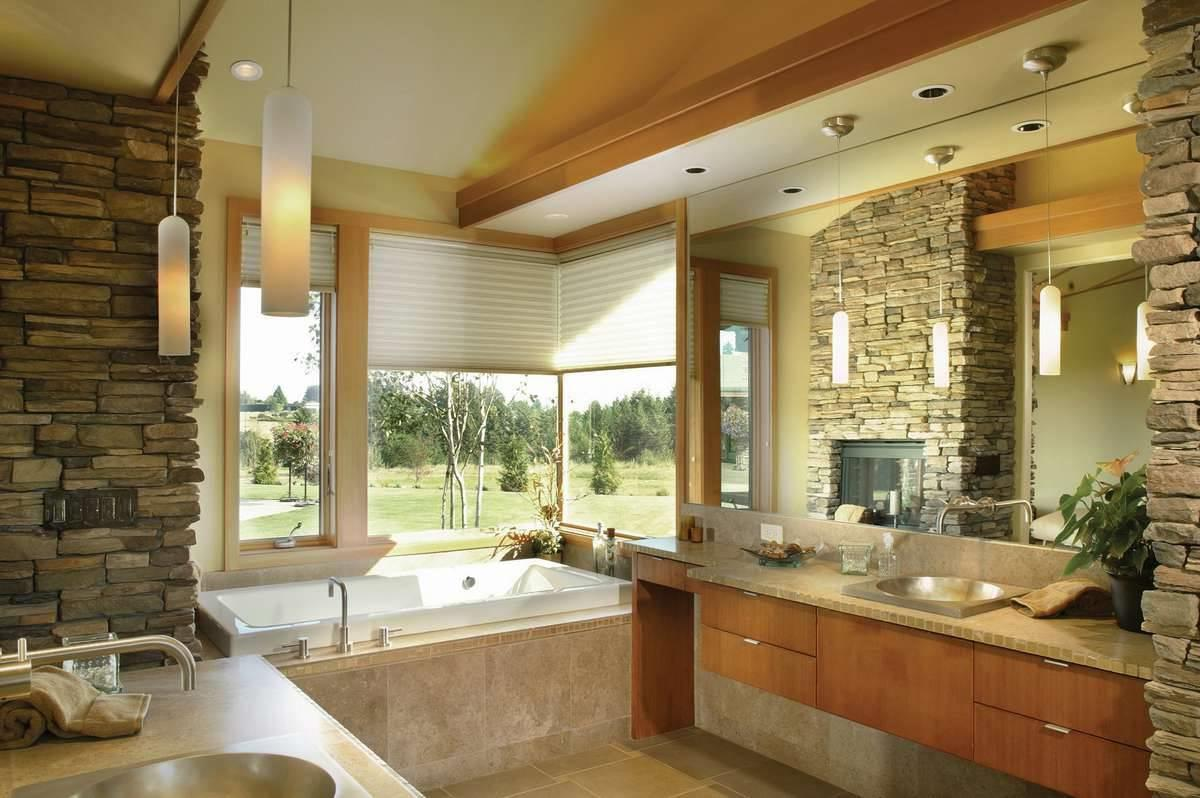 Master Bathroom image of Keswick House Plan