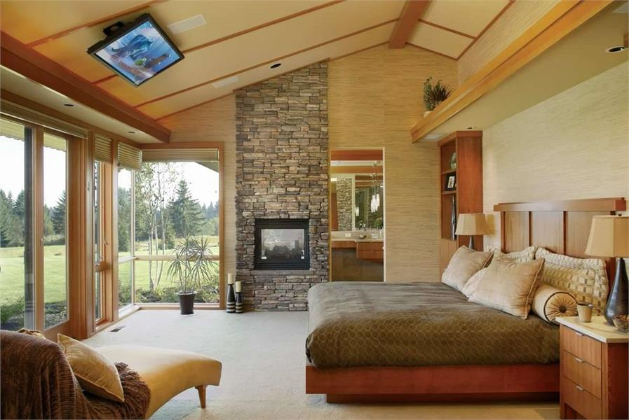 Master Bedroom image of Keswick House Plan