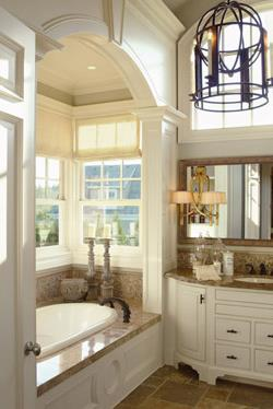Master Bath image of Stoneham House Plan