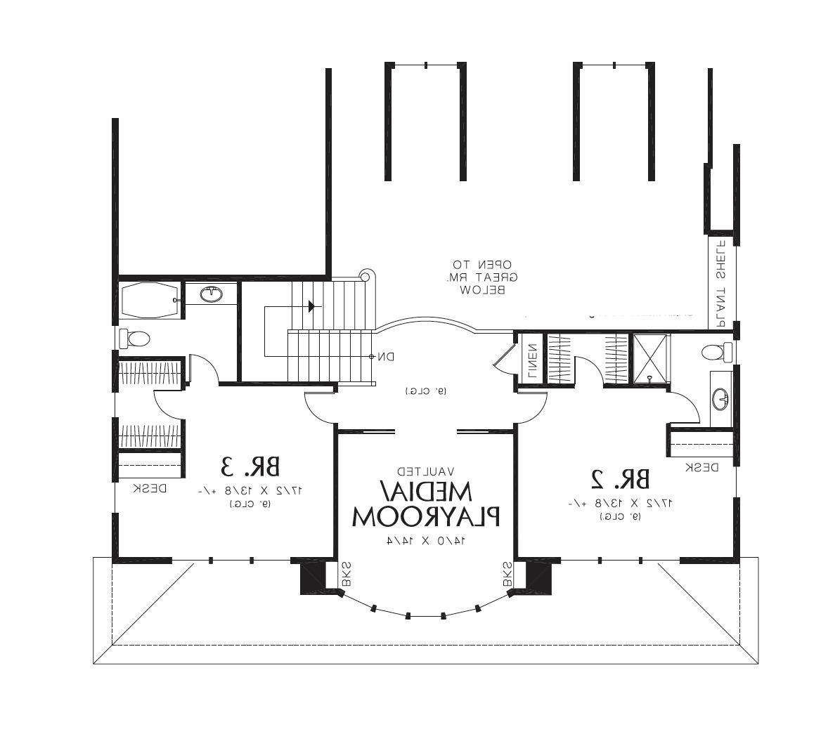 2nd Floor image of Stoneham House Plan