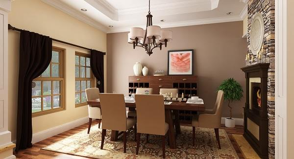 Dining Room image of La Casa Bella House Plan
