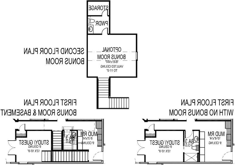Plan Options image of La Casa Bella House Plan