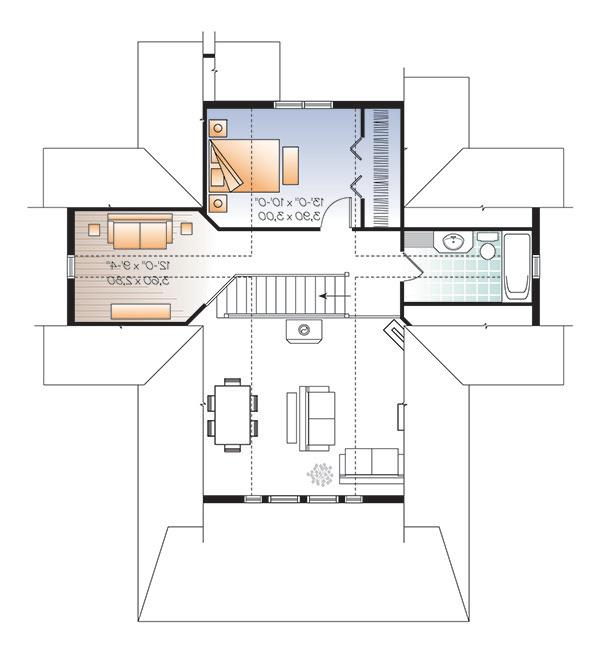 Second level image of Beautiful Vistas House Plan